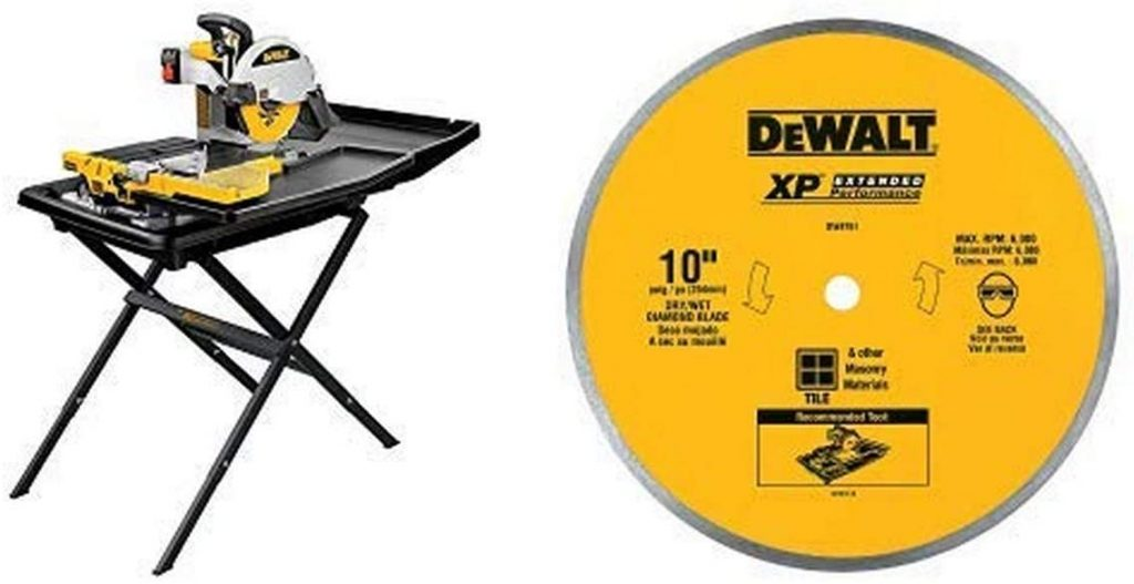 best wet tile saw for cutting glass bottles